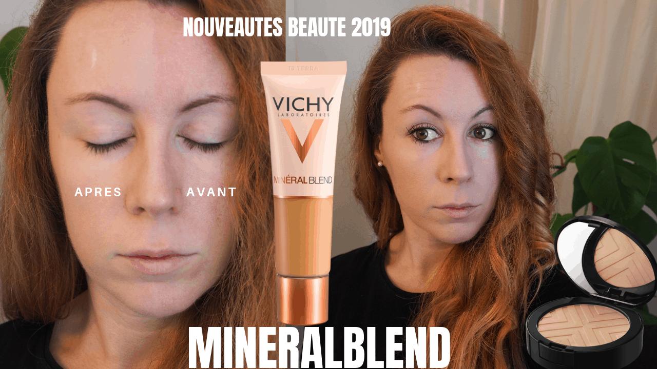 teint parfait - nouveaute beaute 2019 - mineralblend - bodyandfly