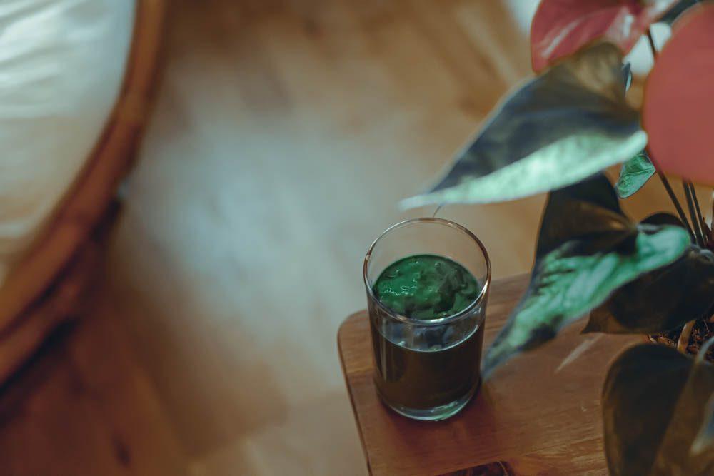 spiruline smoothie vert green detox MA RECETTE DE SMOOTHIE MAISON pour contrôler son poids